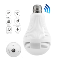 Witrue LED Bulb Light IP Camera Wi-fi 360 Video Surveillance Security Camera Wifi Wireless Smart House Baby Monitor CCTV Camera