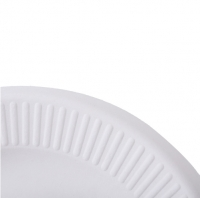 Meltset 10pcs/lot Disposable Paper Plates For BBQ 6 Inch Paper Pulp Tray Round Dessert Cake Plate Microwavable Tableware