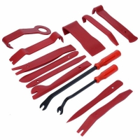 13 PCS Car Audio Maintenance kit Auto Trim Stereo Repair Panel Remover Pry Bar Car Dash Radio Door Trim Panel Clip Tools set