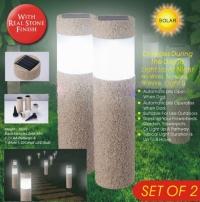 New Arrival Sand-blasting Solar Lawn Light Waterproof LED Outdoor Garden Light Landscape Yard Lawn Path Lamp