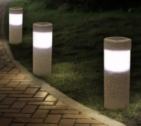 New Arrival Sand-blasting Solar Lawn Light Waterproof LED Outdoor Garden Light Landscape Yard Lawn Path Lamp