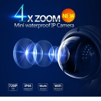 VStarcam Wireless PTZ Dome IP Camera Outdoor 720P HD 4X Zoom CCTV Security Video Network Surveillance IP Camera Wifi C7833WIP-X4