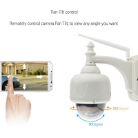 VStarcam Wireless PTZ Dome IP Camera Outdoor 720P HD 4X Zoom CCTV Security Video Network Surveillance IP Camera Wifi C7833WIP-X4